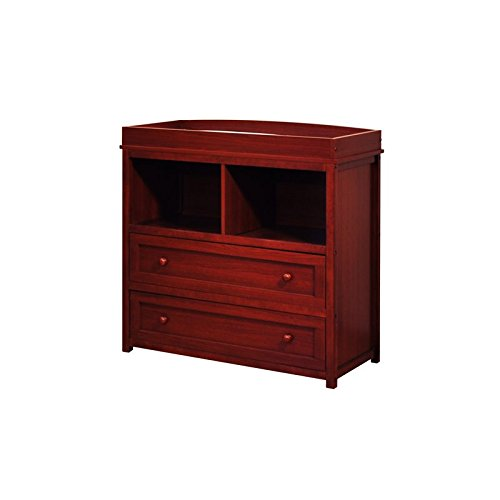 [Changing Table in Cherry Finish] (Cherry Finish Changing Table)