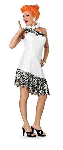 Rubies Womens The Wilma Flintstones Theme Party Fancy Dress Halloween Costume, S (6-8)