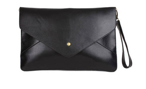 Quilted Envelope Clutch - 5