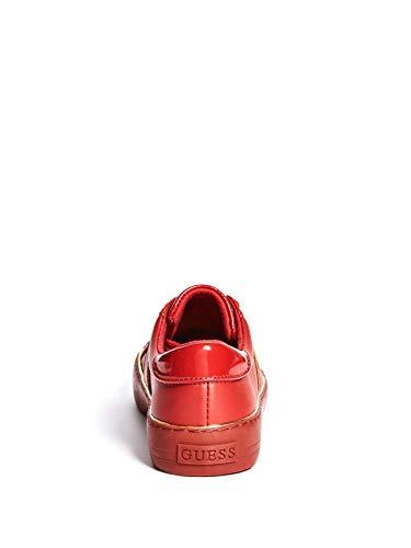 GUESS Factory Women s Gilda Logo Metallic Trim Low-Top Sneakers ... 0f8f4a0065