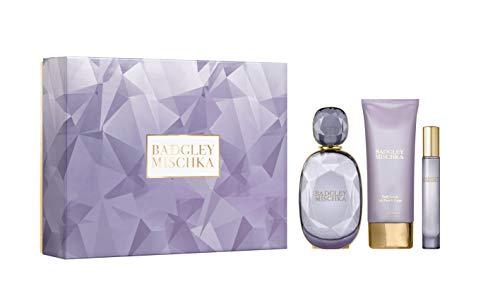 Badgley Mischka 3-Pc Gift Set 2 (3.4oz EDP, 3.4oz Body Lotion, 0.33oz Purse Spray) ()