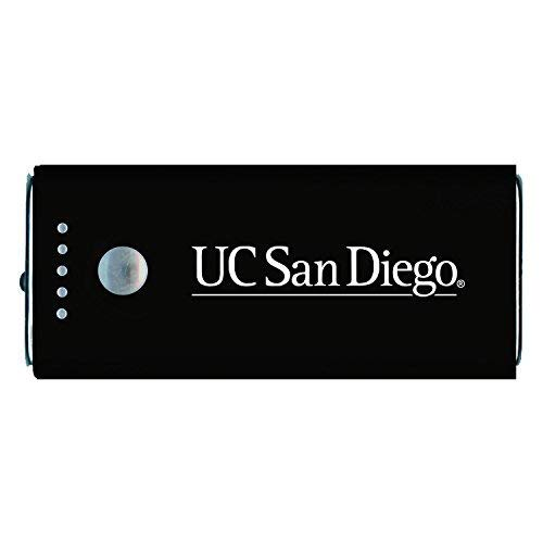 - University of California, San Diego-Portable Cell Phone 5200 mAh Power Bank Charger -Black