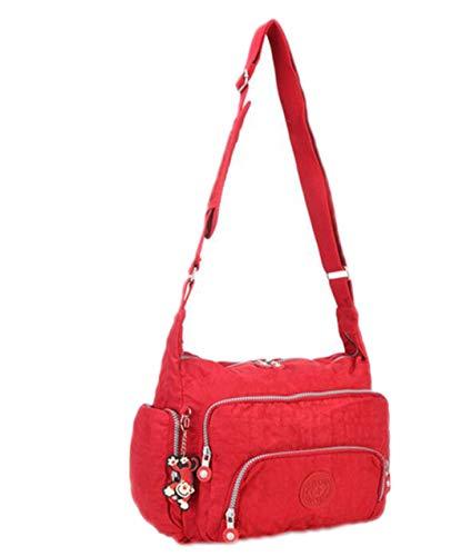 Tracolla Red Black Donna A Leggera Spalla Borse 5vxqHSCW