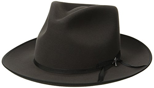 Stetson Men's Stratoliner Roayl Quality Fur Felt Hat, Caribou, 7.5 by Stetson