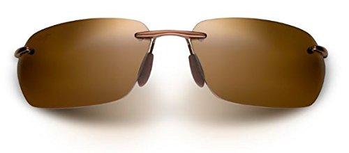 Maui Jim Alaka'I Polarized Sunglasses Metallic Gloss Copper / HCL Bronze One Size