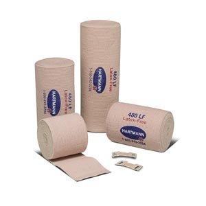 Hartmann 39300000 Deluxe 480 Reinforced Elastic Bandage, Latex-Free, 3'' Width, 5 yd. Length (Pack of 60)