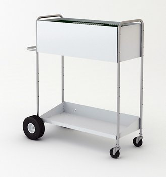 Charnstrom 52-Inch High Boy Long Solid Metal Cart (B271) by Charnstrom