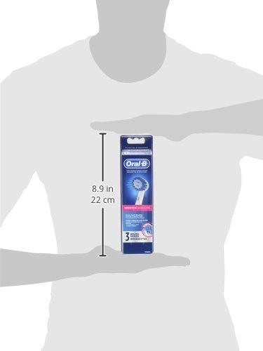 41ZMBvGGiCL Oral-B Sensitive Gum Care Electric Toothbrush Replacement Brush Heads Refill, 3 Count
