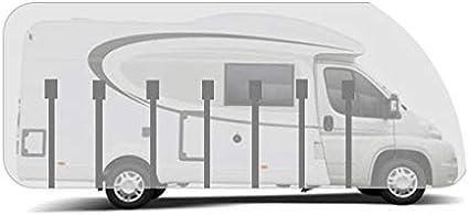 Hbcollection Atmungsaktive Schutzhülle Für Teilintegrierter Wohnmobile Reisemobile Lxbxh 6 50x2 30x2 50m Auto