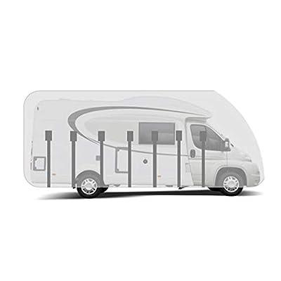HBCOLLECTION Atmungsaktive Schutzhülle für Teilintegrierter Wohnmobile Reisemobile (LxBxH 6.00x2.30x2.50m)