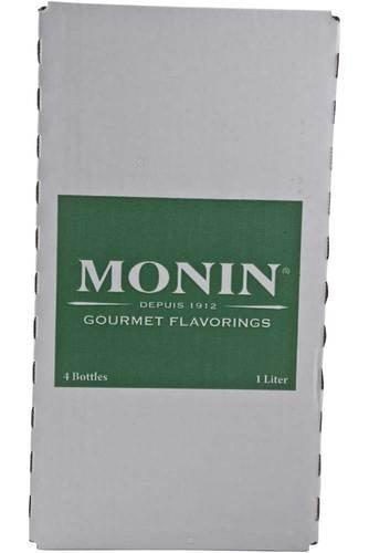 Monin Hibiscus Syrup, 1 Liter -- 4 per case.