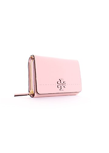 Crossbody Burch Pink in Flat McGraw Tory Quartz Wallet wangqIaWd