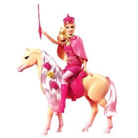 Barbie and The Three Musketeers Doll and Horse [Toy] (Barbie And The Three Musketeers Corinne Doll)