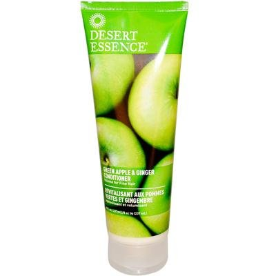 - Desert Essence Green Apple and Ginger Thickening and Volumizing Conditioner, 8 Ounce - 6 per case.