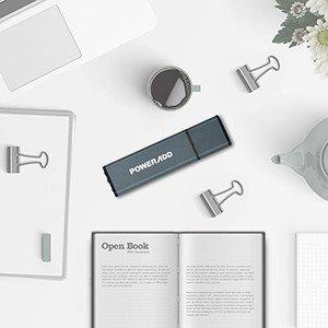 Poweradd Alta Velocidad Memoria USB 3.0 de 32GB Color-Gris