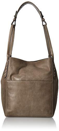 FRYE Reed Zip Leather Hobo, dove (Hobo Leather Zip)