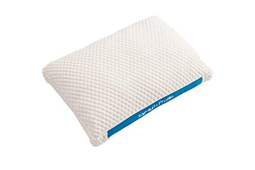 Boschettu Breathable Medium Profile Pillow for Back and Stomach Sleepers, Mesh for Breathability. Fiber Filled for The Softest Support [並行輸入品] B07RBDTKWY