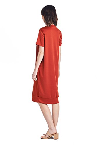 Days Mid Dresses Various Long Comfortable Women's Styles Jersey Rust 82 1 PwYq6P
