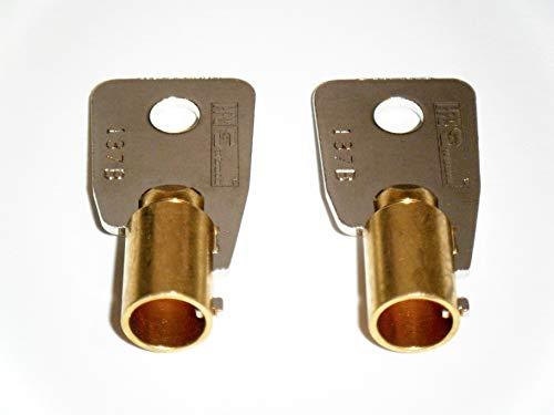 2 Keys Cabinets Push Locks Southco CH751 Keys for RV Campers