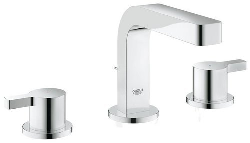 GROHE 20304000 Lineare 2hdl basin 3-hole low spout