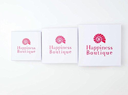 Happiness Boutique Femmes Collier Plastron avec Perles en Or | Collier XXL avec Perles Blanches et Strass Claire sans nickel