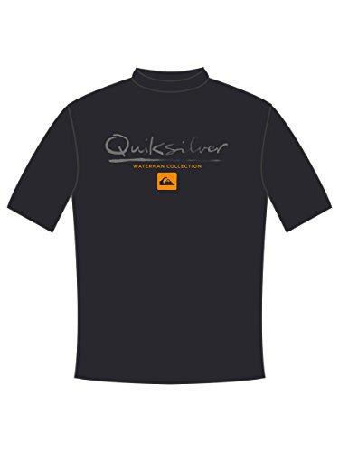 퀵실버 Quiksilver Waterman Mens Gut Check Ss Surf Tee