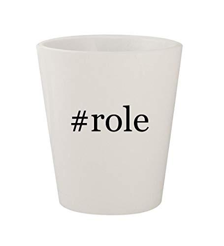 #role - Ceramic White Hashtag 1.5oz Shot Glass]()