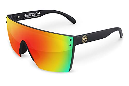Heat Wave Visual Lazer Face Sunglasses in Sunblast