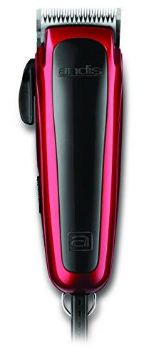 ndjustable Blade Clipper Kit - Animal/Dog Grooming, Red, RACD (60275) ()