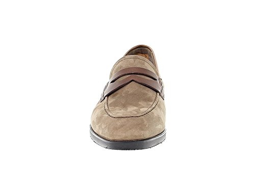 Fabi Uomo Mocassini Marrone Velluto 8925BROWN SFOxfS