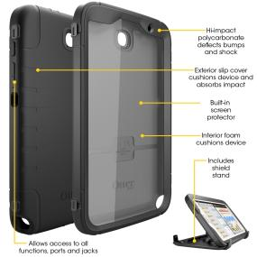7e840162d42 OtterBox Defender Series case for Samsung Galaxy Note 8. Samsung Galaxy Note  8 tablet case