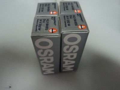 New Lot Of 4X Osram Xenophot Hlx Ehj 24V 250W Bulb Lamp Projector - Ehj Light Bulbs