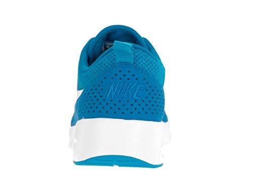 Nike Kvinders Air Max Thea Løbesko Blå Gnist / Topmøde Hvid z6GQek5