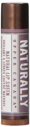Upper Canada Naturally Lip Sheen, Pressed Olive Avocado, 0.15 Ounce