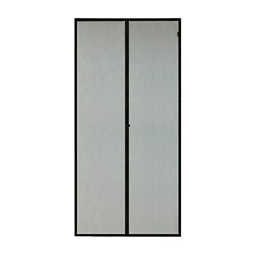 MAGZO Magnetic Screen Door 36 x 80, Mosquito Curtain Sliding Door Mesh with Full Frame Hook&Loop Good for Keep Bugs Fly Out