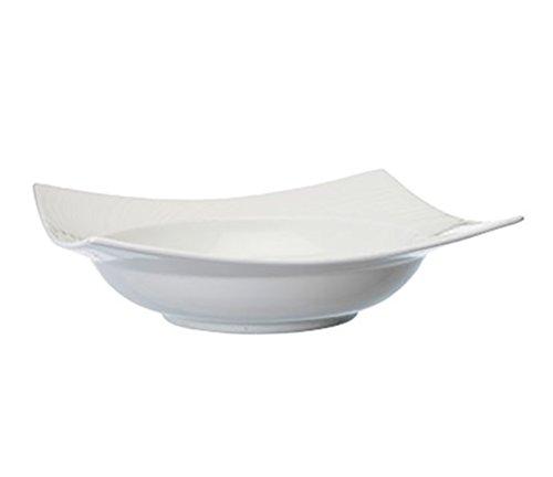 091574011516 - Wedgwood Ethereal Pasta Square Bowl, White carousel main 1