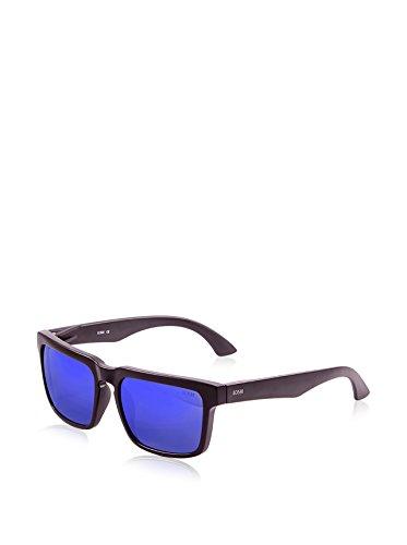 Bomb Talla Color Blanco Gafas única mate de Ocean Azul Sunglasses Sol Unisex Negro revo Negro AxU541qw