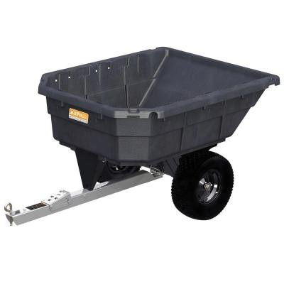Swivel Dump Cart (12.5 cu. ft. 1000 lb. Capacity Poly Swivel Dump Cart)