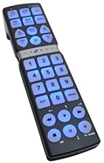 product image for La-Z-Boy LZ8100 8-Function Mega Universal Learning Remote Control w/Extra Large Buttons (Black)