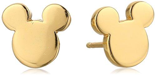 Disney Mickey Mouse Silhouette Earrings