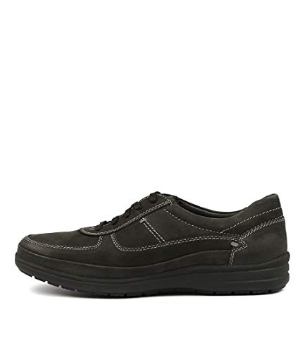 Hush Puppies Porto-HP Brown Mens Sneakers Mens Sport Shoes Black Leather
