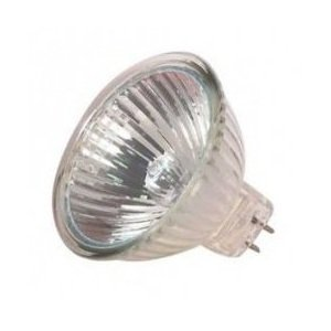 12v 20w Clear Halogen Flood - 20W 12V MR16 FLOOD BAB 36 DEGREE With LENS 20 watt 12 Volts