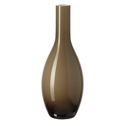 Leonardo Tischvase Beauty Vase in Form Einer Flasche beige Jarron Vase in Form Einer Flasche 180/mm 70/mm 70/mm beige Innenraum
