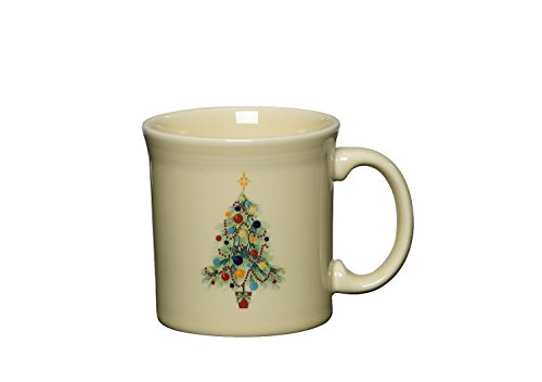 - Fiesta 12-Ounce Java Mug, Christmas Tree
