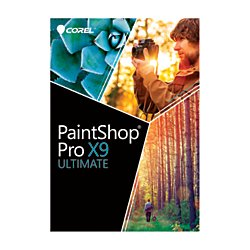 Corel(R) Paint Shop(TM) Pro(R) X9 Ultimate, Traditional Disc