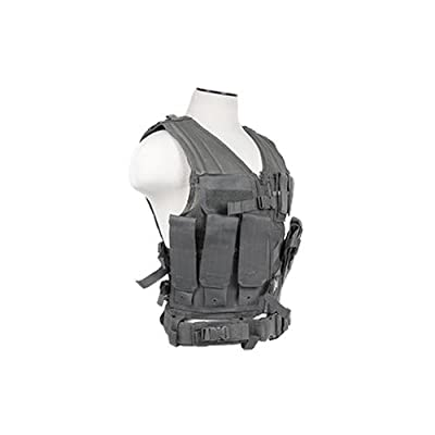 NC Star Tactical Vest, Urban Gray Youth