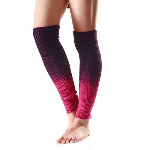 Nanxson Women's Knit Acrylic Gradient Color Long Leg Warmer TTW0038 (Best Nanxson Winter Boots)