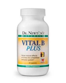 Vital B Plus - B Complex Vitamins with Antioxidants from Dr. Newton's Naturals