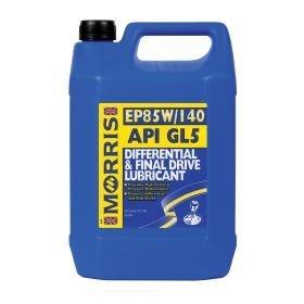 Morris Lubricants EP85W/140 API GL5 - Olio Lubrificante per differenziale e trasmissione finale, 5 l
