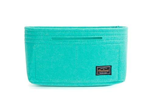 Green Pochette - Felt Insert Bag Organizer Bag For Tote Handbag Pocket Organizer,Multi-Pocket Handbag Shaper (9.05